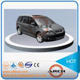 Plato giratorio auto del coche de China para la exhibición