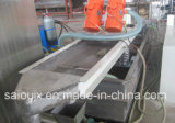 Línea plástica de la granulación del compresor