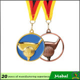 2016 Sale caldo Cheap 50-150mm Medallion Metal Award Medal con Ribbon, Sport Blank Medal con Holder