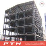 Dibujo de estudio de acero profesional del edificio para el taller