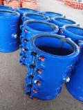 Отремонтируйте струбцину, ворот ремонта, ворот заключения, Split ворот для прямого цвета трубопровода H200X500 утюга голубого, он-лайн ремонта утечки