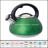 Caldera Wk492 del silbido de la inducción del acero inoxidable