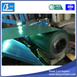 bobine en acier galvanisée enduite d'une première couche de peinture par 0.35X914mm pour la toiture en métal