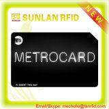IDENTIFICATION RF de bonne qualité Bus/Metro/Subway Card de Custom avec Mf 1k S50/4k S70 /Ultralight Chip pour Transportation/Payment/Ticketing (Golden Professional Manufacturer)
