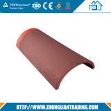 Azulejo de azotea del azulejo de azotea del metal de la terracota/del metal del color rojo