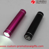LED 이동 전화 휴대용 가벼운 힘 은행 2600mAh