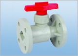 Valvola a sfera flangiata/valvola a sfera di plastica della sfera Valve/PVC
