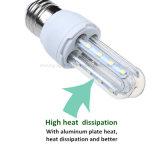 85V-265V LED 옥수수 전구 E27 2835SMD 가벼운 온난하거나 순수하고 또는 차가운 백색 에너지 절약 램프 홈 실내 점화