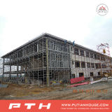 Costruzione chiara prefabbricata della struttura d'acciaio per il banco/hotel/centro commerciale