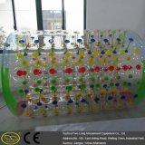 Rodillo que camina del agua inflable inflable material de la piscina del PVC TPU