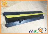 1000 * 220 * 30mm Outdoor Rubber Single Channel Cabo Protector Flexível Mangueira Rampa