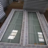 Usine de modèle de porte de salle de bains de Ventanas De PVC Chine