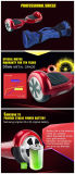 """Auto padrão do carregador do UL que balança o """"trotinette"""" elétrico Hoverboard de Bluetooth com a bateria de Samsung 18650"""