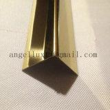 Cornière d'intérieur et extérieure d'acier inoxydable de la barre Ss201 Ss304 d'ange de L-Forme de coin de protecteur de mur