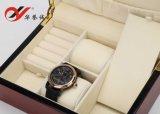 4 colores doblan el rectángulo de madera del reloj