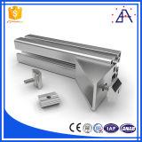 Profil en aluminium fait sur commande d'extrusion du brillant 6063-T5
