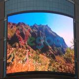 P10 LED al aire libre a todo color que hace publicidad de la pantalla de visualización