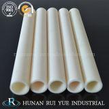 Tubo di ceramica di protezione della termocoppia del tubo del Alundum