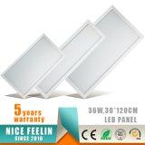 luz del panel de 120lm/W 1200*300m m 30W Dali Dimmable LED