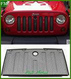 Trou noir de blocage de gril de la maille 3D pour le Wrangler de Jk de jeep