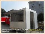 Carro móvel do alimento do reboque do alimento da alta qualidade de Ys-Fb290 2.9m para a venda