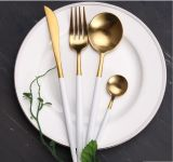 Комплект Cutlery Tableware Qualitier золотистый