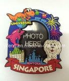 Blocco per grafici 2017 della foto del PVC con il magnete per i regali promozionali di Singapore