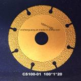 Паяемое вакуумом лезвие алмазной пилы для режущего инструмента агата