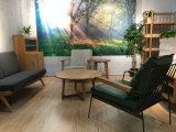 Mobília antiga confortável para a sala de visitas