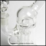 Hfy Glas 13.5 Zoll Hoheit-Glastrinkwasserbrunnen-rauchende Wasser-Rohr-mit freie Brücke Gridded imperialer Perc Pilar Huka auf Lager