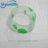 Braccialetto trasparente del silicone di stampa