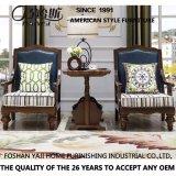 Présidence de salon en bois de type américain pour les meubles à la maison (AS823)