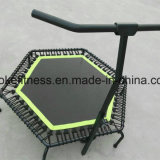 Jumping Fitness Trampoline with Handle 50'' 55''
