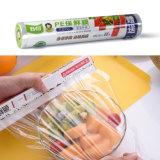 BPA Free Slider / cortador de plástico Película de pegado de PE para envoltura de alimentos