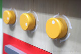 O jogo de madeira da cozinha finge Playset, brinquedo de madeira de DIY para miúdos