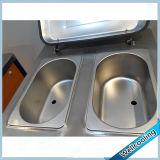 Fußboden-stehender gefrorener Joghurt-Frucht-Eiscreme-Hersteller