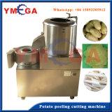 Équipement de traitement des aliments Machine à copeaux de pommes de terre au manioc en acier inoxydable