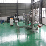 Fábrica automática de engarrafamento de água natural da primavera