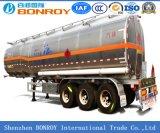 Líquido da liga de alumínio da alta qualidade 3axle/petroleiro do combustível/gasolina/Oil/LPG