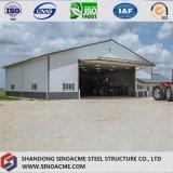 Magazzino d'acciaio della costruzione della costruzione per l'agricoltura del veicolo