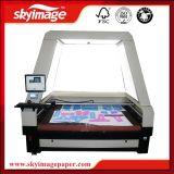 máquina de estaca do laser de 1800X1200mm auto com única cabeça para a tela/couro