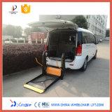 Elevación de sillón de ruedas del Ce Wl-D-880 para Van con la plataforma completa