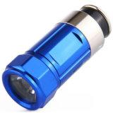 A prueba de agua más pequeño botón CR2032 de aluminio mini linterna