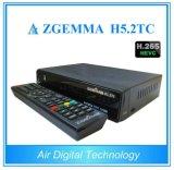 Приемник Zgemma H5.2tc OS E2 Linux комбинированный DVB-S2 + 2*DVB-T2/C удваивает тюнеры с коробкой Hevc/H. 265 франтовской TV