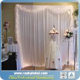 결혼식 배경막 관은 판매를 위해, 사용한 관 주름잡아 드리우고 주름잡아 드리우고