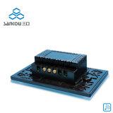 Ons 1gang de Draadloze Verre Lichte Schakelaar van de Aanraking van Schakelaars AC110V/220V Slimme