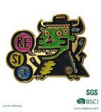 Emblema do metal da lembrança do produto relativo à promoção e Pin feitos sob encomenda