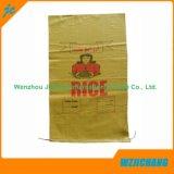 Sacchetto tessuto pp del riso dello zucchero