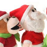 Het beste Speelgoed voor het Leren van de Pluche van de Gift van Kerstmis van 2017 spreekt Kerstman