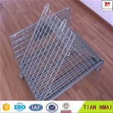 50*50mm Electric Galvanized Metal Storage Cage/Wire Mesh Container for Wearhouse Storage